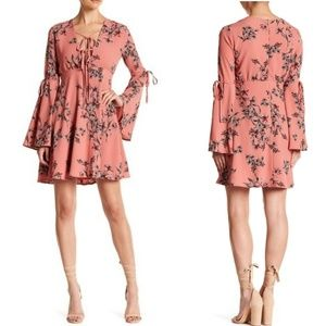 🆕️ENDLESS ROSE Azalea Long Bell Sleeve Floral Min